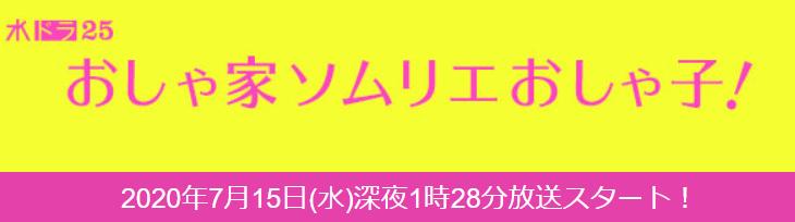 ドラマ「おしゃ家ソムリエおしゃ子!」を見逃し配信している動画配信サービス