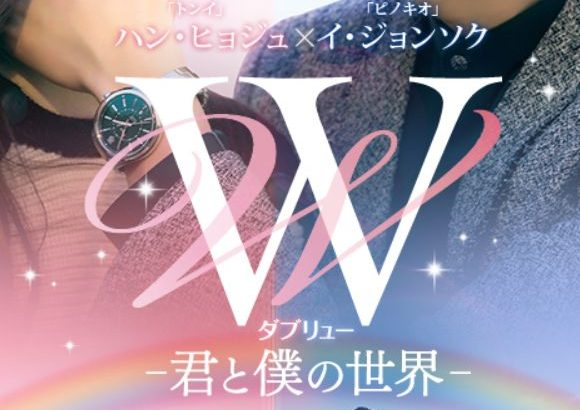 韓流ドラマ「W -君と僕の世界-」を配信している動画配信サービス