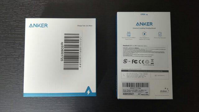 Anker PowerPort III 65WとPowerLine III