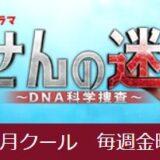 ドラマ「らせんの迷宮〜DNA科学捜査〜」を見逃し配信している動画配信サービス